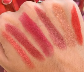 Swatches_Estee_Lauder_Pure_Color_Love_Lipstick_Shimmer_Pearls_and_Edgy_Cremes