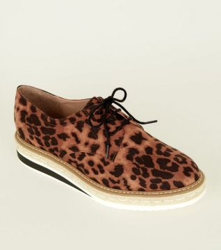 tan-leopard-print-chunky-sole-lace-up-shoes