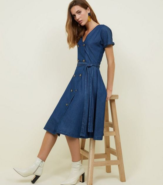 blue-rinse-wash-double-breasted-denim-midi-dress